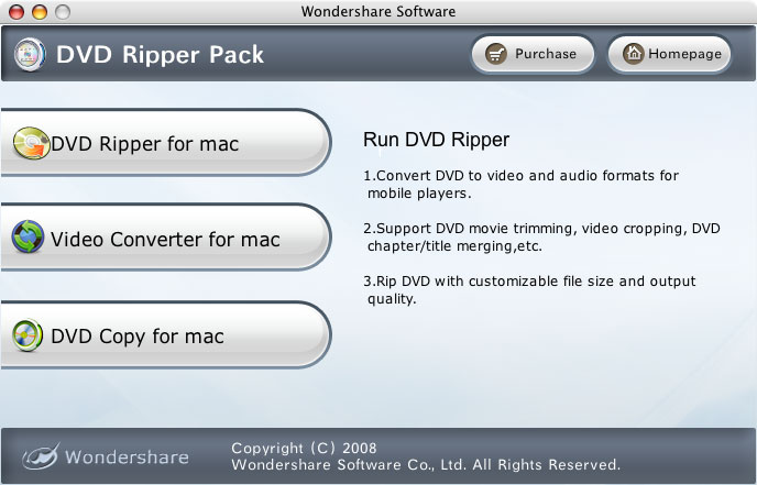 DVD Studio Pack for Mac